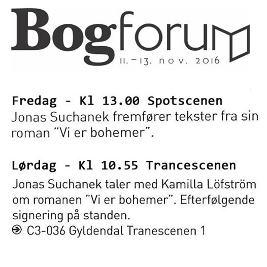 bogforum 2016 jonas suchanek